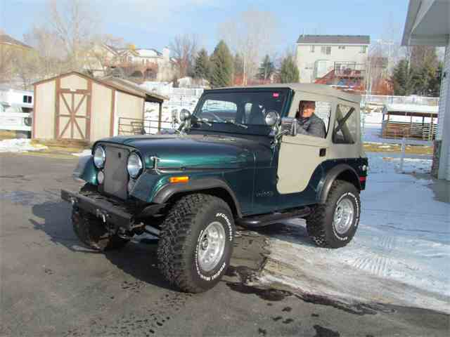 Picture of 1977 CJ5 located in Midvale Utah Offered by Ardell Brown Classic Cars - MEEY