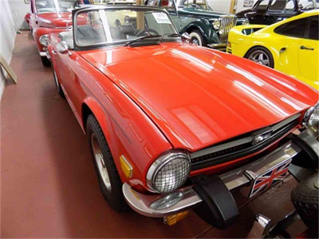 Large Picture of '76 TR6 - MEFU