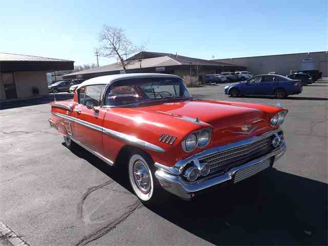 Picture of Classic '58 Chevrolet Impala - $74,995.00 Offered by Ardell Brown Classic Cars - MEGQ