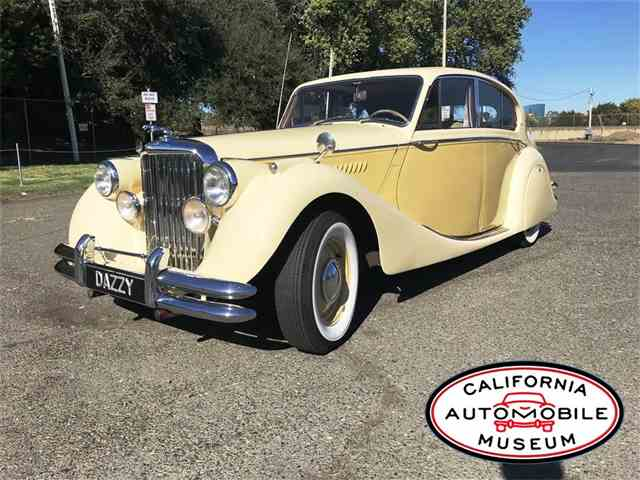 Picture of Classic '50 Jaguar Mark V located in Sacramento CALIFORNIA Offered by California Automobile Museum - MEKO