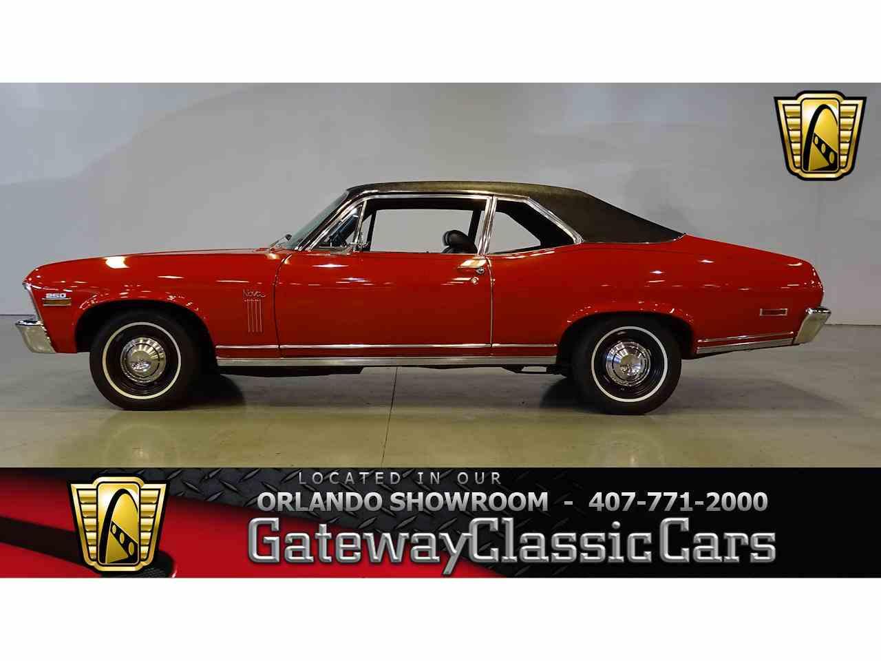 1970 Chevrolet Nova for Sale - CC-1045379