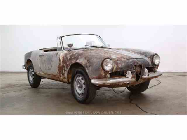 Picture of '61 Alfa Romeo Giulietta Spider located in California - $15,750.00 - MEMN