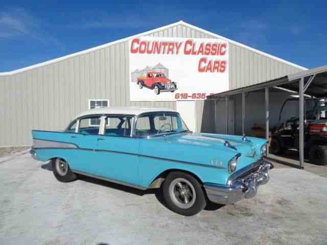 Picture of Classic 1957 Chevrolet Bel Air located in Staunton Illinois - $16,750.00 - MEOT