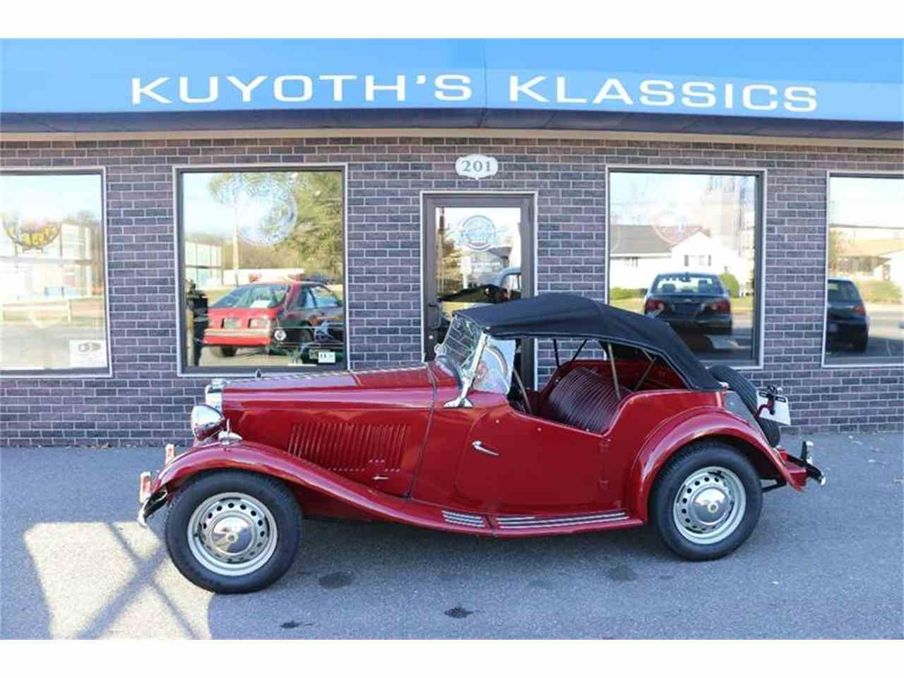 Large Picture of 1952 MG TD - $16,900.00 Offered by Kuyoth's Klassics - MEPQ