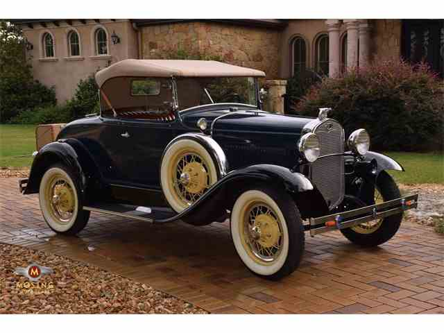 Picture of '31 Ford Model A located in Austin Texas - $28,999.00 Offered by Mosing Motorcars - MER4