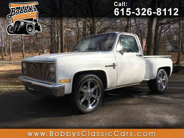 Picture of '83 Chevrolet C10 located in Tennessee - $5,995.00 Offered by Bobby's Car Care - METQ