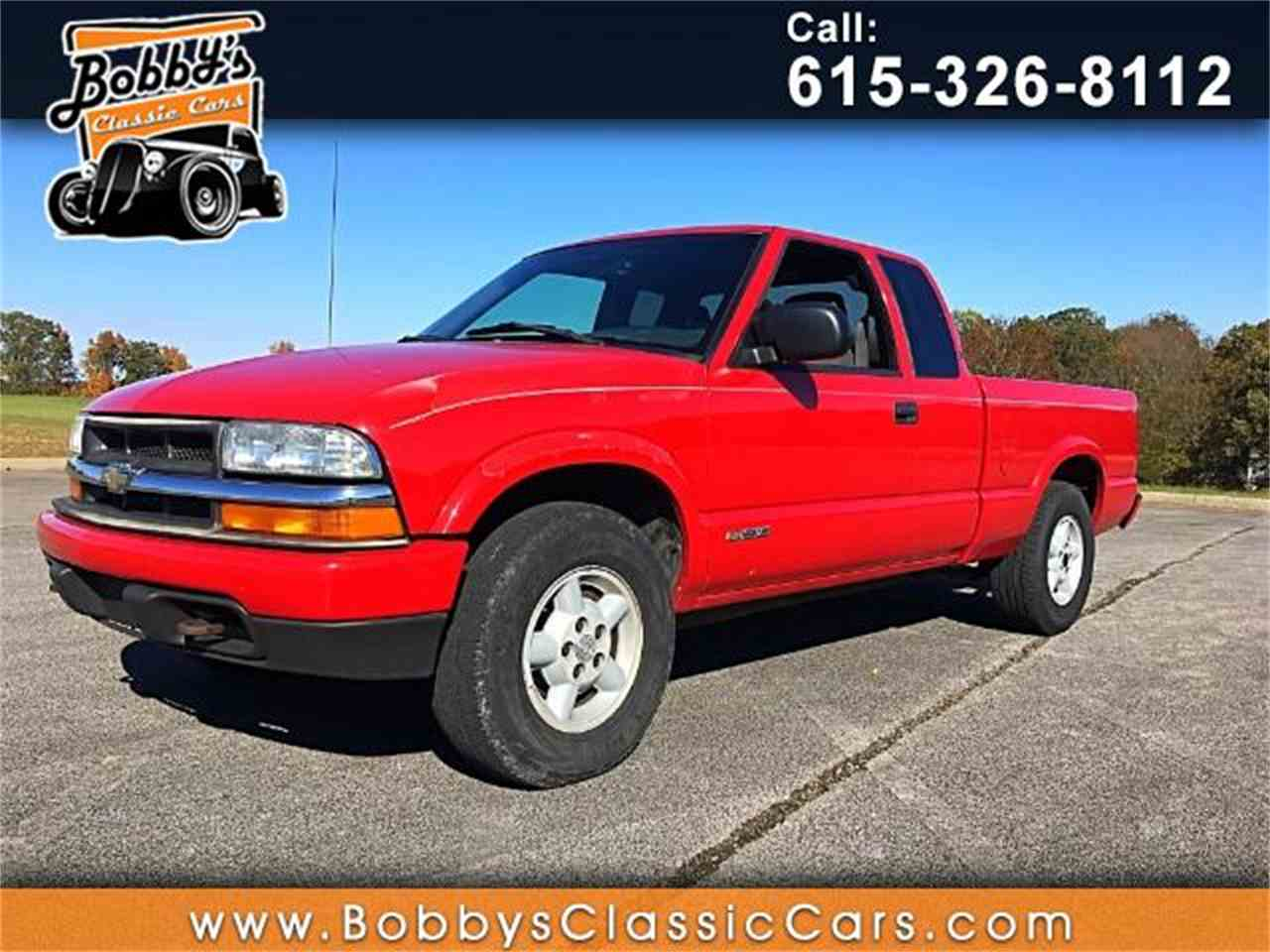 All Chevy 2015 chevrolet s10 : 2002 Chevrolet S10 for Sale | ClassicCars.com | CC-1045656