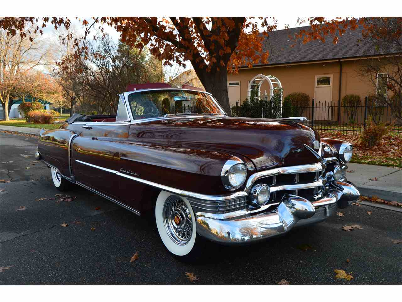 1951 Cadillac Classifieds For To 1953 Series 62 12 Coupe Deville Sale Classiccarscom Cc