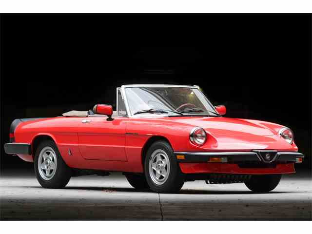 1984 Alfa Romeo 2000 Spider Veloce | 1040581