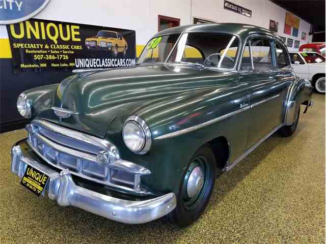 Picture of Classic '50 Chevrolet Styleline Deluxe 2 door Sedan located in Mankato Minnesota Offered by Unique Specialty And Classics - MAY5