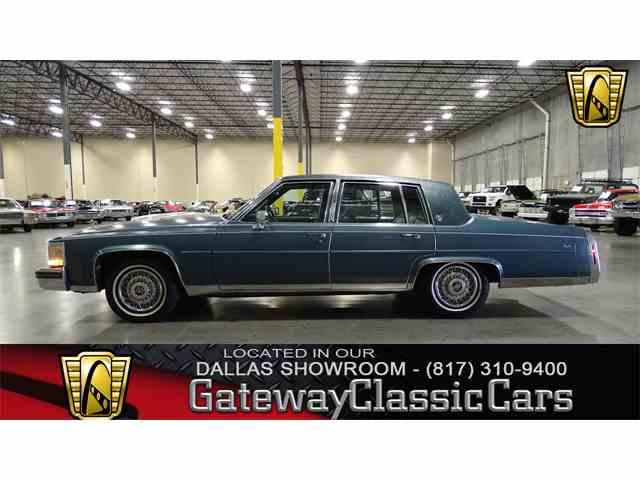 1987 Cadillac Brougham   1040634