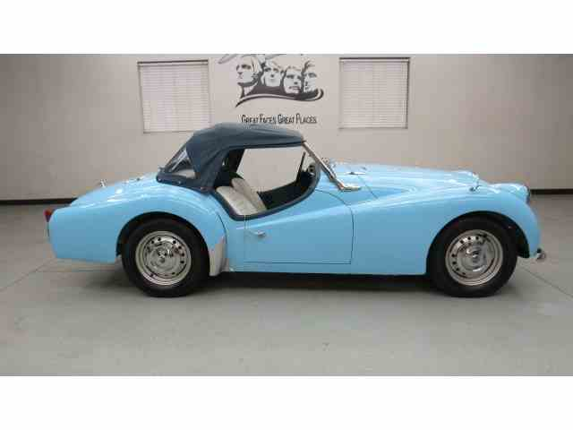 Picture of Classic '59 TR3 located in Sioux Falls South Dakota - $29,950.00 Offered by Frankman Motor Company - MAZ0