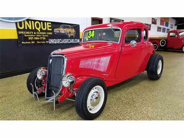 1934 Ford Coupe 5-Window | 1046732