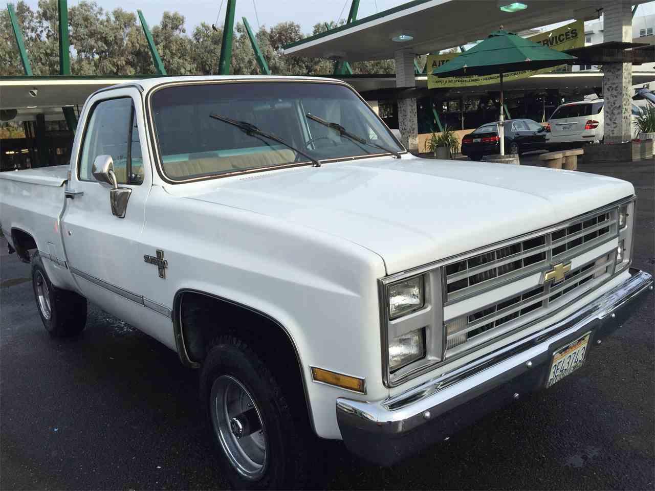 Large Picture of '86 Silverado - MFT2