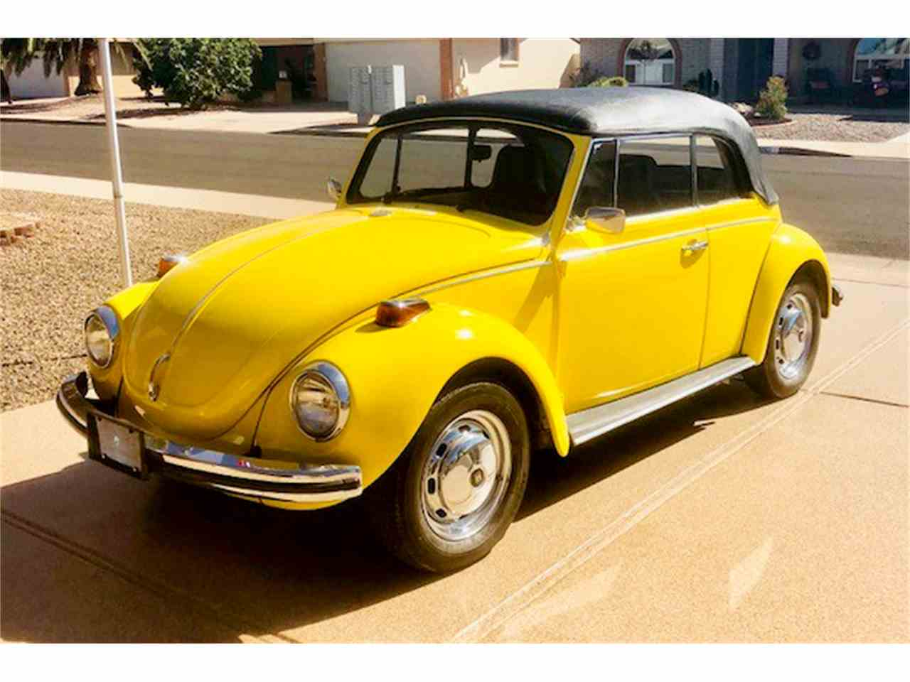 1971 volkswagen beetle for sale cc 1047327. Black Bedroom Furniture Sets. Home Design Ideas