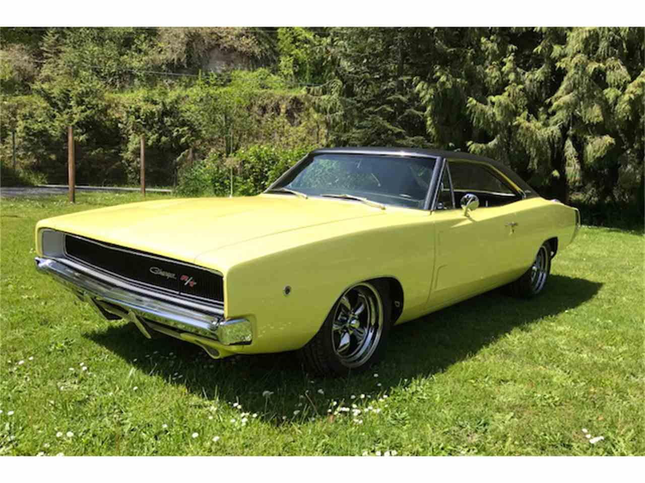 1968 dodge charger r t for sale cc 1047358. Black Bedroom Furniture Sets. Home Design Ideas