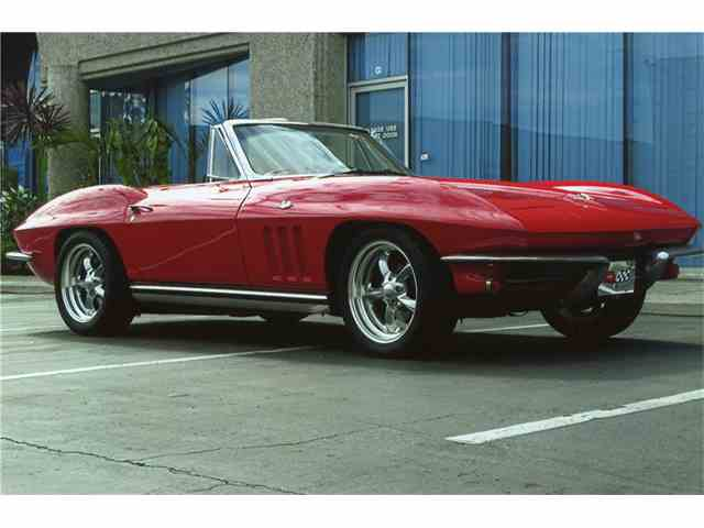 Picture of '65 Chevrolet Corvette Auction Vehicle Offered by Barrett-Jackson Auctions - MG74