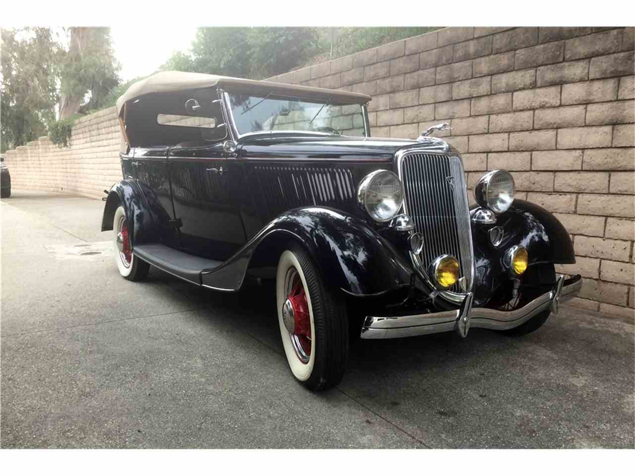 Large Picture of '34 Phaeton located in Arizona Auction Vehicle Offered by Barrett-Jackson Auctions - MG82