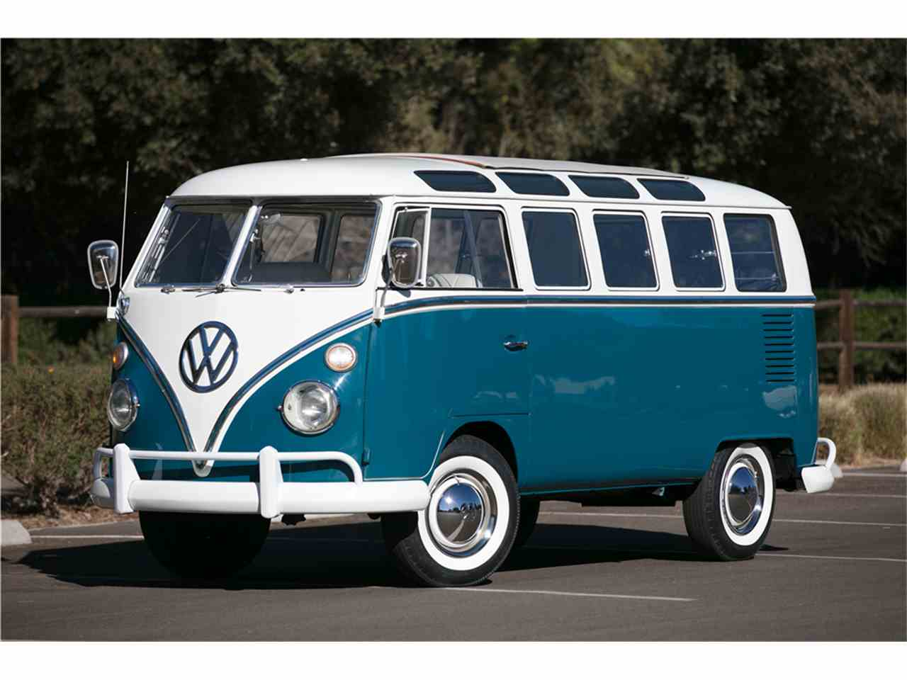 1965 volkswagen bus for sale cc 1047609. Black Bedroom Furniture Sets. Home Design Ideas
