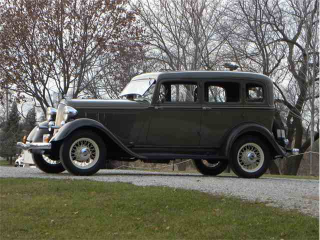 1933 Plymouth Model PD Deluxe 4 Door Sedan