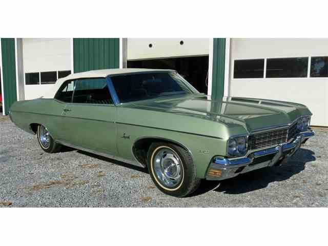1968 to 1970 chevrolet impala for sale on classiccars 45 1970 chevrolet impala 1047907 sciox Images