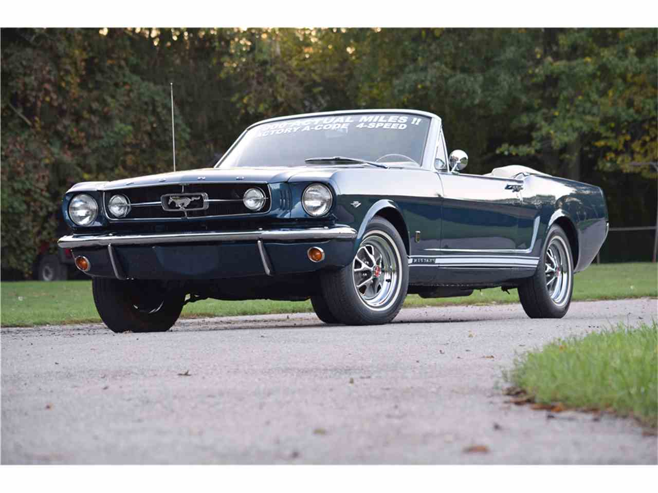Large Picture of '65 Mustang - MGOQ