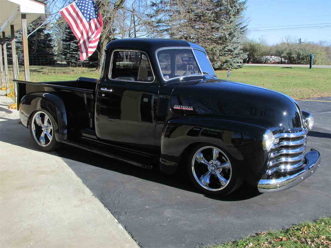 1950 chevrolet 5 window pickup for sale cc 1040808. Black Bedroom Furniture Sets. Home Design Ideas