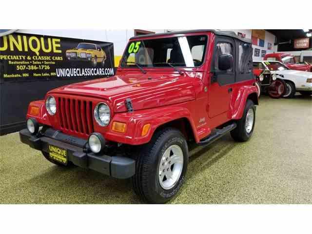 2005 Jeep Wrangler Rocky Mountain Edition 4x4   1048135