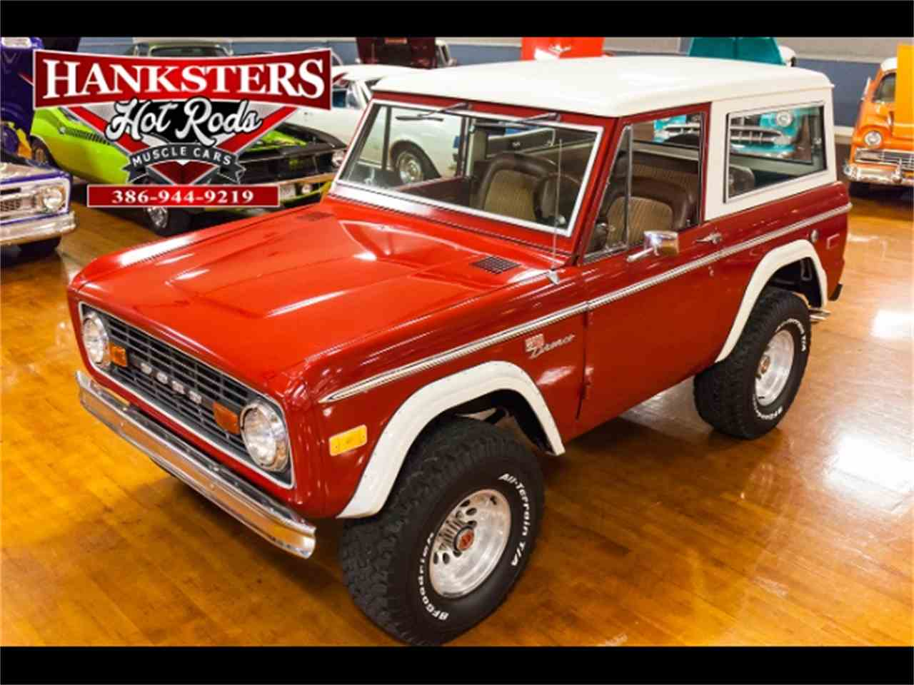 1971 Ford Bronco for Sale - CC-1048389
