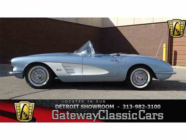 Picture of Classic '58 Corvette located in Dearborn Michigan - $59,000.00 Offered by Gateway Classic Cars - Detroit - MGZR