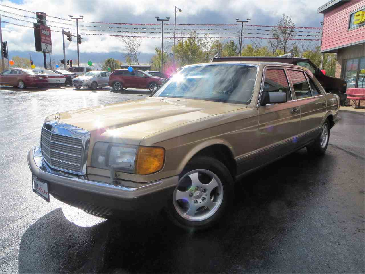 1988 mercedes benz 420sel for sale cc for Contact mercedes benz financial