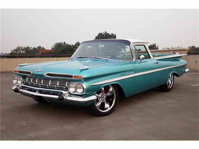 Picture of '59 Chevrolet El Camino Auction Vehicle Offered by Barrett-Jackson Auctions - MH82