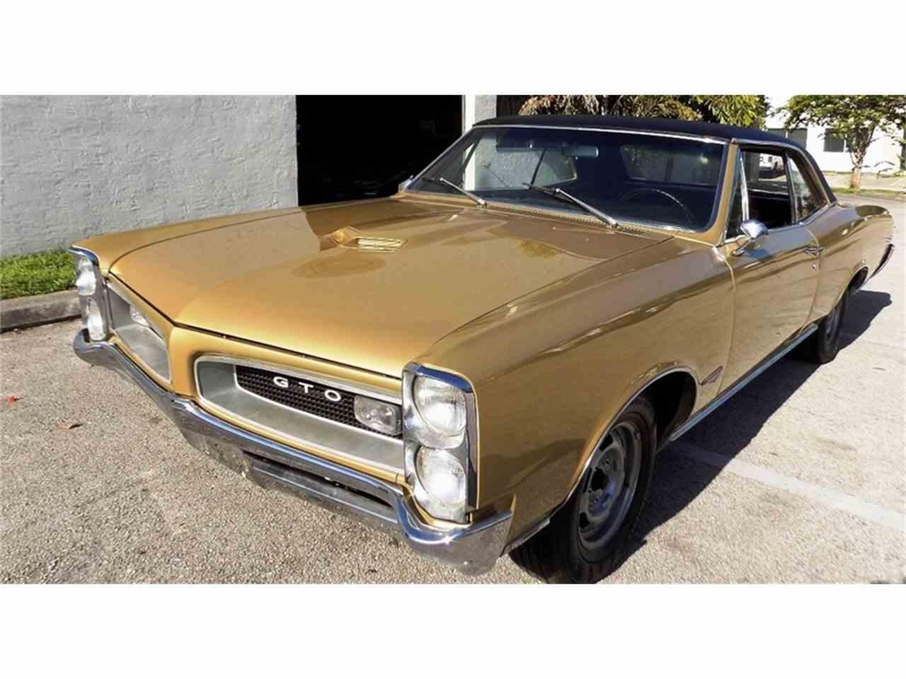 Pontiac GTO For Sale ClassicCarscom CC - Pompano classic cars