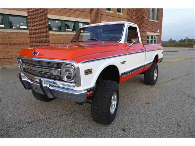 Picture of Classic 1970 C/K 10 Auction Vehicle Offered by Barrett-Jackson Auctions - MHGE