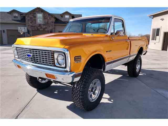 1971 Chevrolet K-10   1049059