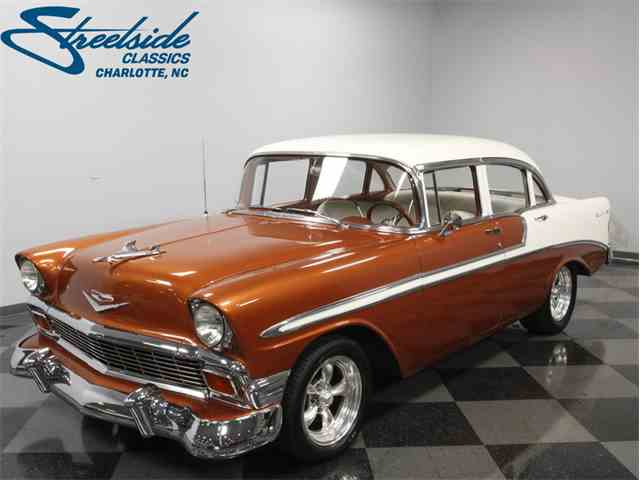 1956 chevrolet bel air for sale on for 1956 chevy 4 door for sale