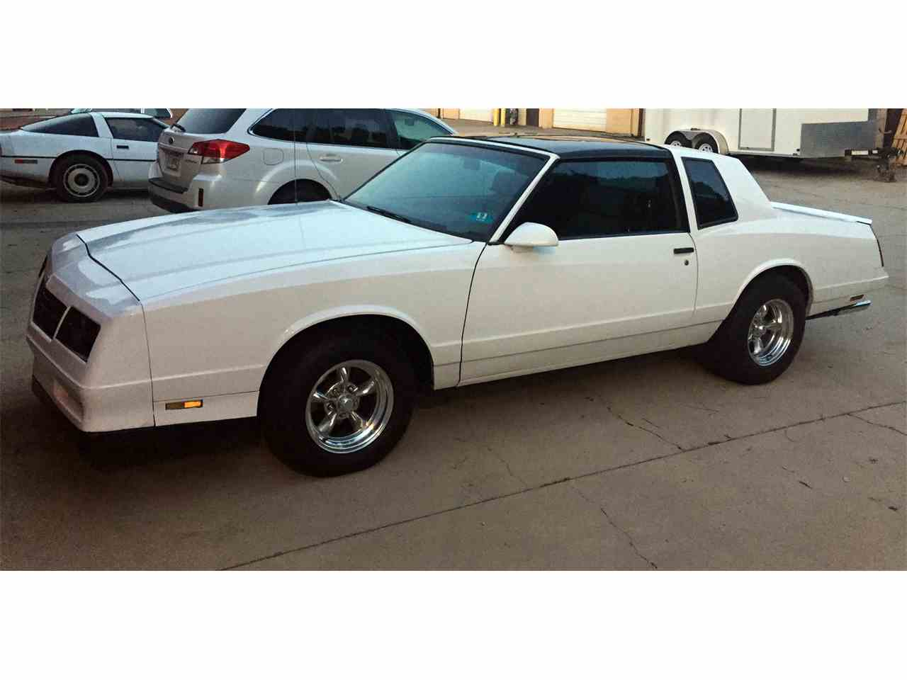 All Chevy 1988 chevrolet monte carlo ss for sale : 1988 Chevrolet Monte Carlo SS for Sale | ClassicCars.com | CC-1040946