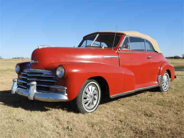 Picture of Classic '47 Fleetmaster Auction Vehicle Offered by Ball Auction Service - MHTV