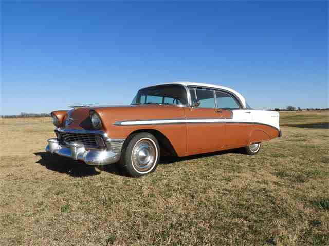 Picture of 1956 Chevrolet Bel Air Auction Vehicle - MHU4