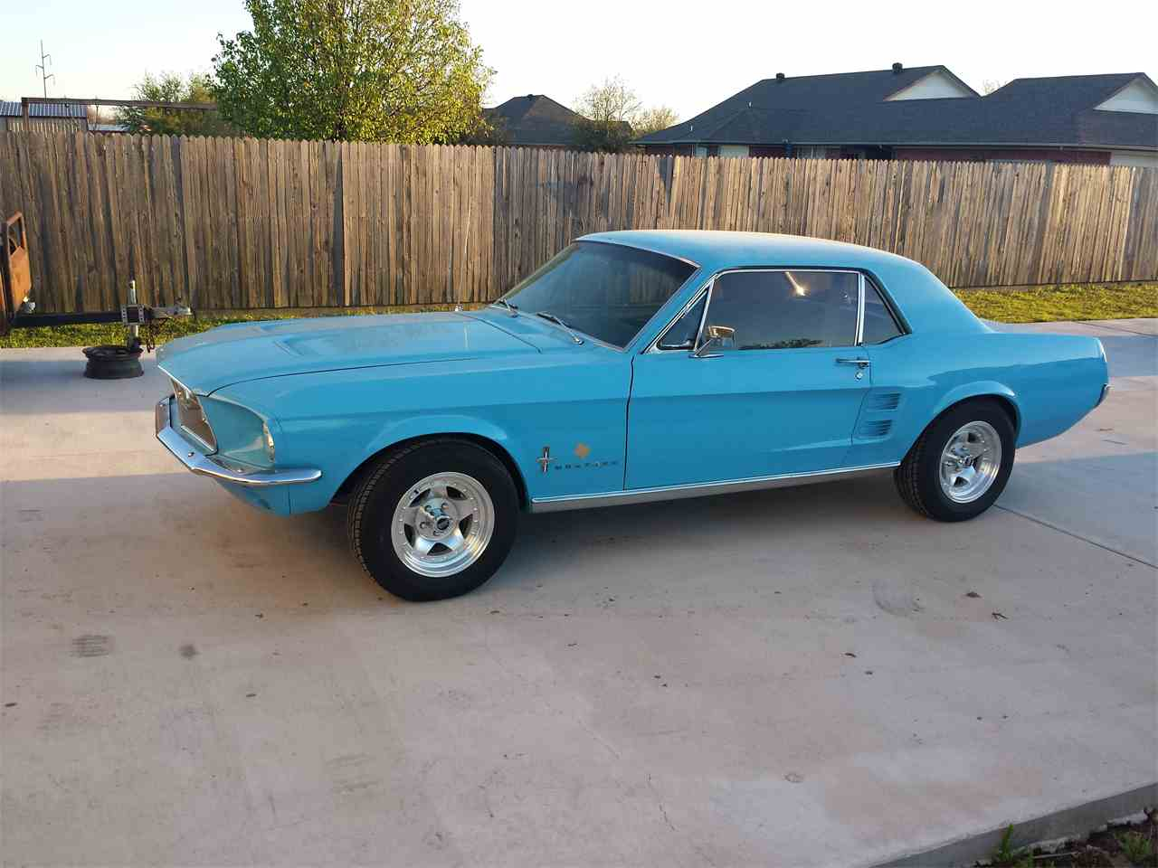 Large Picture of '67 Mustang - MB7N