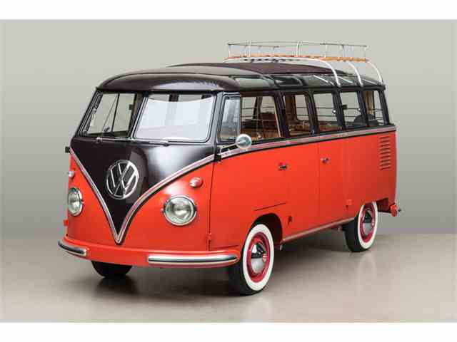 Picture of Classic 1958 Deluxe Microbus 23 Window Auction Vehicle - MHX8