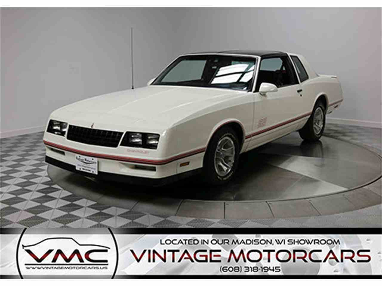 1987 chevrolet monte carlo ss for sale cc 1049830. Black Bedroom Furniture Sets. Home Design Ideas