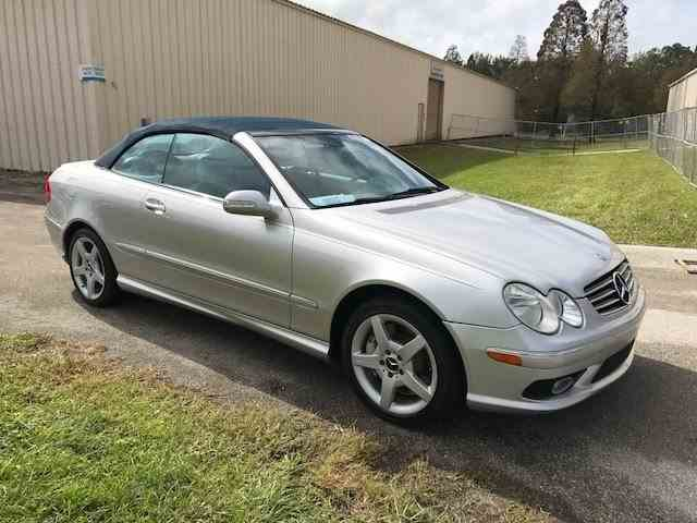 2005 Mercedes-benz CLK500 Convertible | 1040986