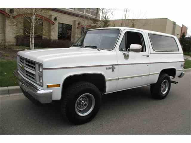 1986 Chevrolet Blazer   1049903
