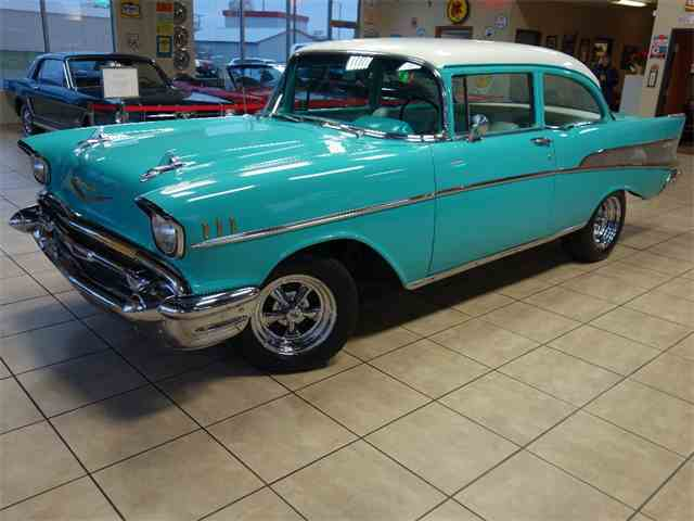 Picture of Classic 1957 Bel Air located in De Witt Iowa - $29,997.00 Offered by Thiel Motor Sales Inc. - MJ0Y