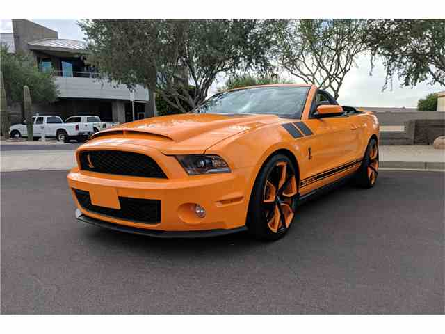 Picture of '12 Shelby GT500 Auction Vehicle Offered by Barrett-Jackson Auctions - MJ2M