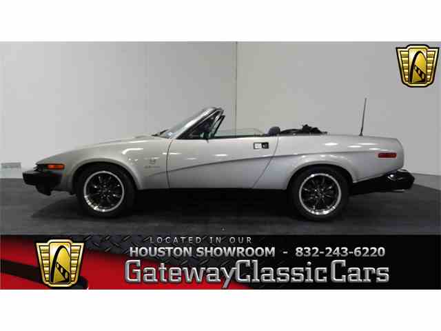 Picture of '80 TR8 located in Houston Texas - $13,595.00 Offered by Gateway Classic Cars - Houston - MJ3V
