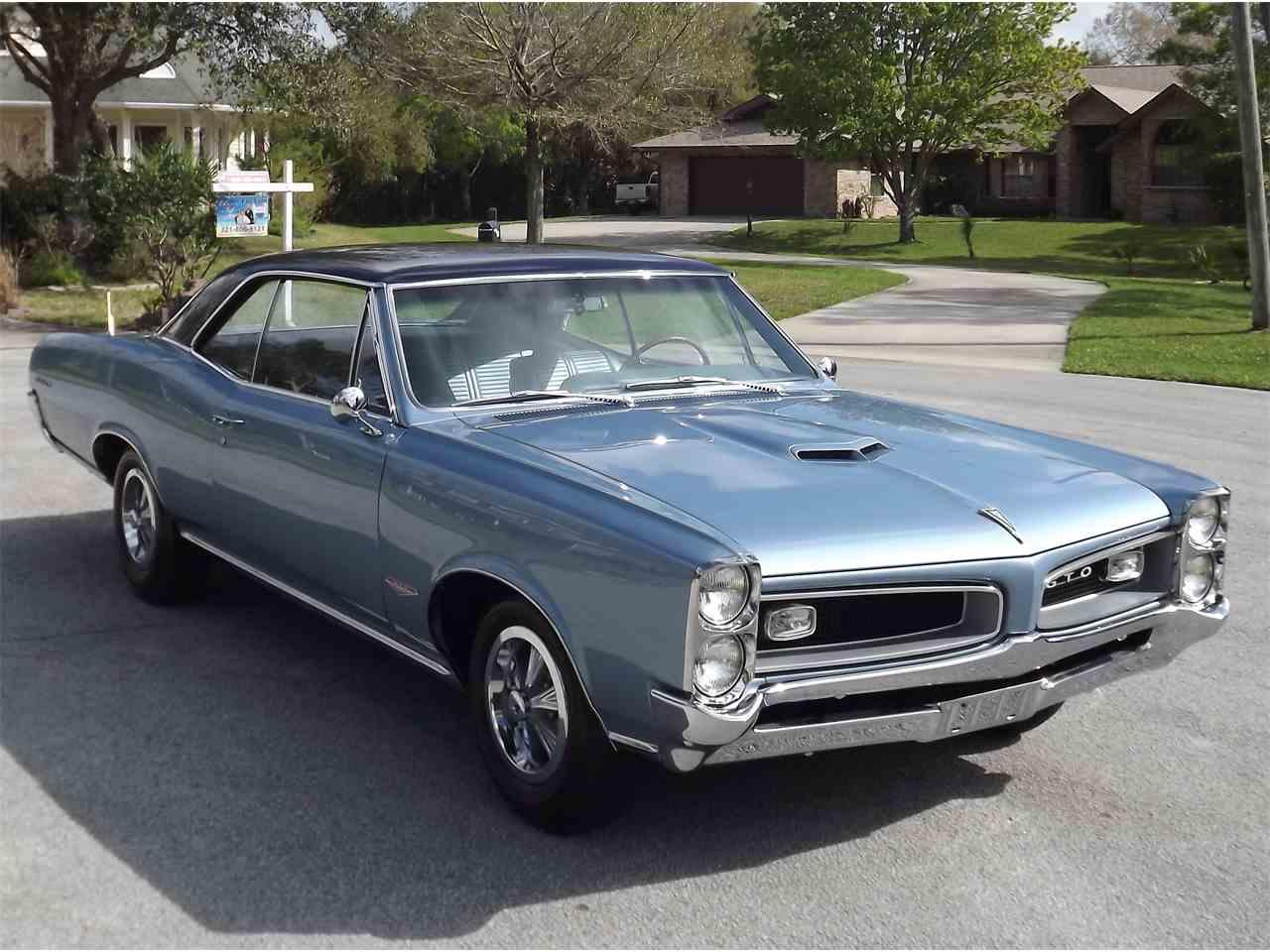 Classic Cars For Sale California Usa: 1966 Pontiac GTO For Sale