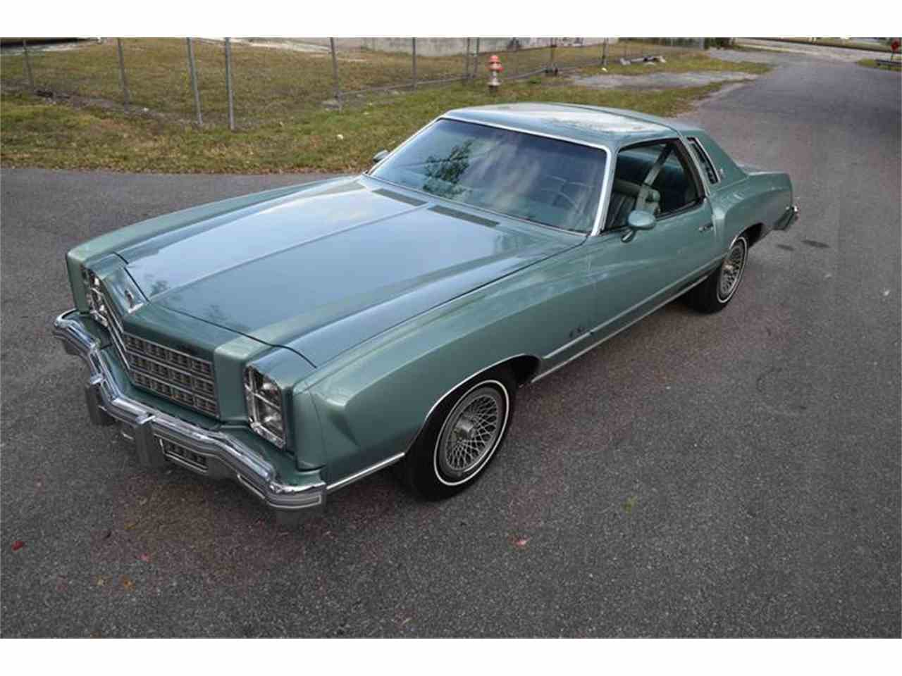 1977 Chevrolet Monte Carlo For Sale Cc 1051546