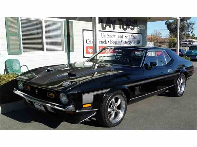 Picture of '72 Mustang Mach 1 - MJG5